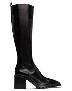 黑色Parker高筒靴