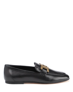 Smooth leather loafers