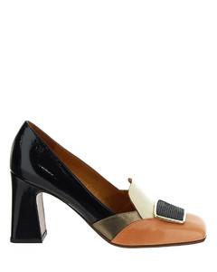 Sharp Boot In Laminated Nappa Lambskin