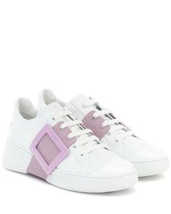 Viv' Skate leather sneakers