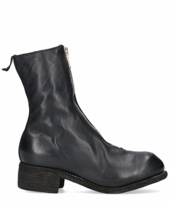 Front-Zip Ankle Boots