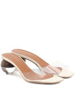 Opus透明凉鞋