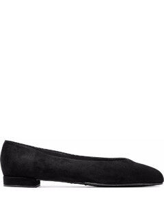 Chic suede ballet flats