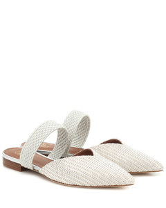 Maisie woven mules