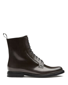 Polished Binder Lace Up Boot
