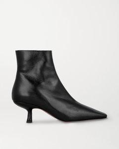 Lange皮革踝靴