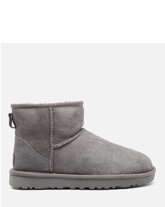 Women's Classic Mini II Sheepskin Boots - Grey