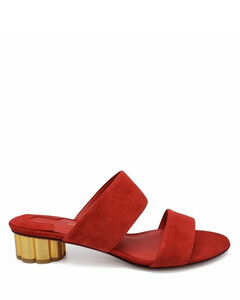 Leather texan ankle boots