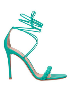 Kiki point-toe patent-leather boots