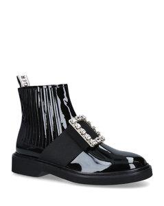 Crystal-Embellished Chelsea Viv' Rangers Boots