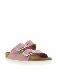 Leather Sandals In Bone