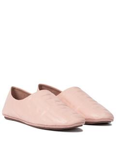 FF皮革芭蕾舞平底鞋