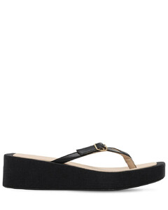 50mm Les Tatanes Leather Thong Sandals