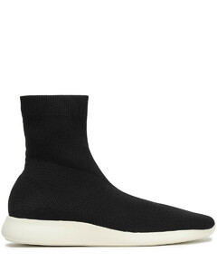 Woman Abbot Stretch-knit High-top Sneakers