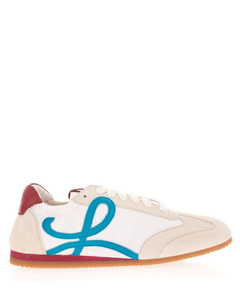 WOMEN'S L815282X321898 WHITE OTHER MATERIALS SNEAKERS