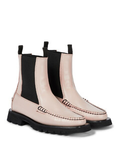 x Diemme Alda leather Chelsea boots