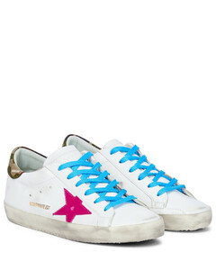 Mytheresa发售- Superstar皮革运动鞋