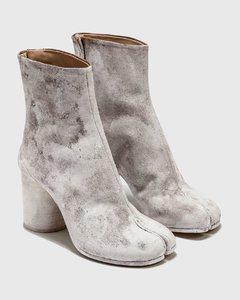 Tabi Dark Earth Dye Ankle Boots
