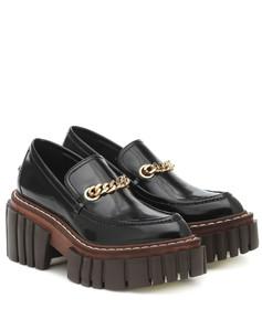 Emilie人造皮革乐福鞋