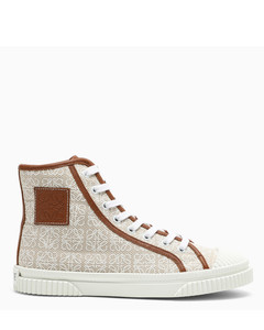 Anagram high sneaker in canvas