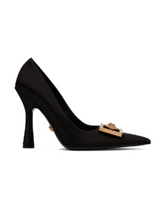 Fuzzy heel ankle boots
