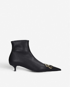 BB 40 leather ankle boots