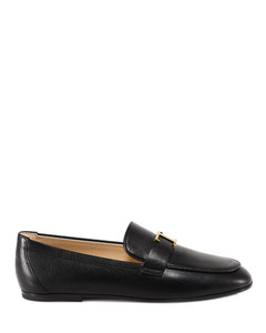T Timeless leather loafers
