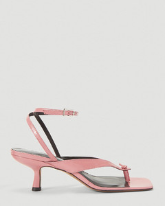 Mindy Heeled Sandals in Pink