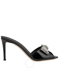 Miri faux pearl-embellished suede platform boots