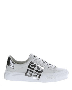 Sneakers Suede, Nappa Leather And LaméNappa Runners With Shiny Contour