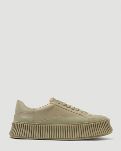 Chunky Sole Sneakers in Green
