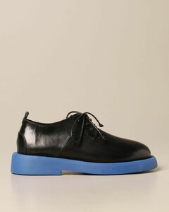 Gommello derby in leather