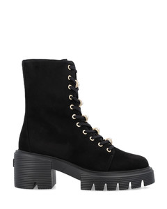 ANKLE BOOT WITH PLATEAU AND TREAD SOLE