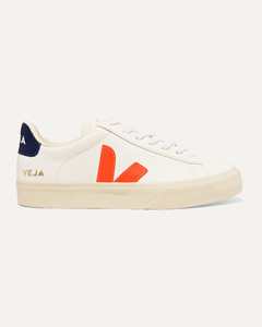 Campo纹理皮革运动鞋