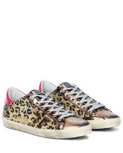 Mytheresa发售- Superstar豹纹运动鞋