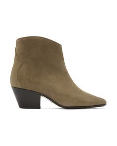 灰褐色Dacken踝靴