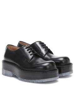 皮革德比鞋