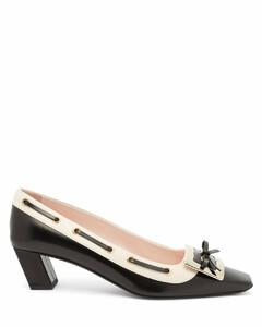 Belle Vivier leather pumps