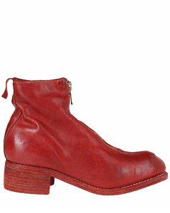 PL1 Front Zip Ankle Boots