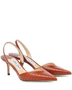 Thandi 65皮革露跟高跟鞋