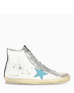 White and blue Francy sneaker