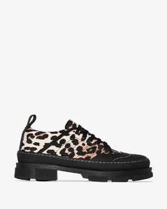 Black and brown Leo Hybrid sneakers