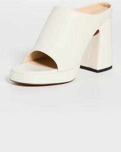橙色City再生橡胶踝靴