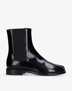 Tabi split-toe leather Chelsea boots