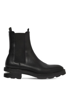 45mm Andy Leather Beatle Boots