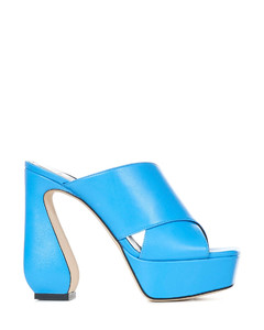 Black logo tag leather chelsea boots