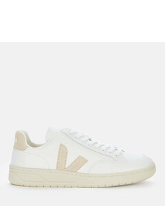 Women's V-12 Leather Trainers - Extra White/Sable
