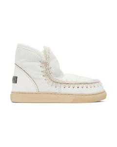 白色Sneaker踝靴