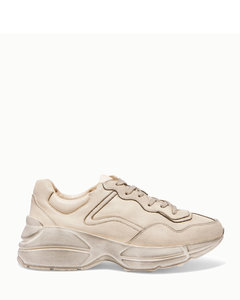 Rhyton仿旧皮革运动鞋