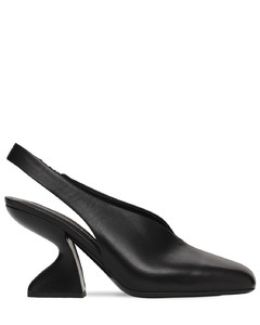 85mm Sloane Leather Slingback Pumps